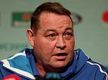Rugby World Cup: Steve Hansen hoping to secure famous double - with horse and the All Blacks
