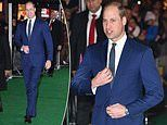 Prince William attends Tusk Conservation Awards in London - but Kate misses it 'due to the children'