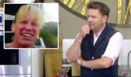 'Your farm's a state' James Martin embarrasses Isle of Wight farmer but praises his butter