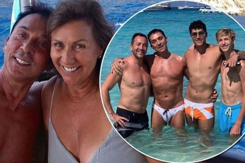 Strictly's Bruno Tonioli leaves nothing to the imagination in eye-wateringly tight trunks