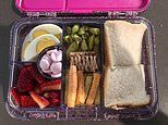 Mum comes under fire over her four-year-old daughter's lunchbox