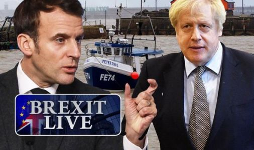 Brexit LIVE: Macron's minister orders EU to secure access to UK fishing waters