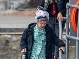 The Crown's Imelda Staunton gets into character as Queen Elizabeth II for series 5 filming debut
