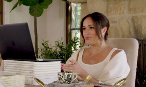 Meghan Markle gives full look at chic home office inside £11m mansion