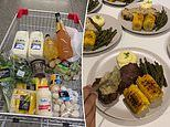Home cook reveals how she creates a restaurant-inspired meal out of staples from Coles