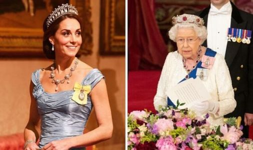 Royal legacy secured: Why Queen could hand entire jewellery collection to Kate