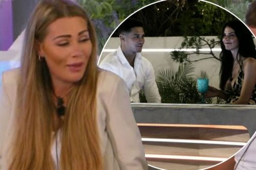 Love Island fans slam Rebecca for 'purposely' flirting with Callum to 'p**s off' Shaughna