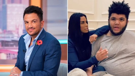 Peter Andre 'praying' for step-son Harvey Price following hospitalisation with breathing difficulties