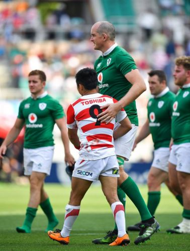 Ireland giant Devin Toner hopes Joe Schmidt's men can standout as much as he will at Rugby World Cup in Japan