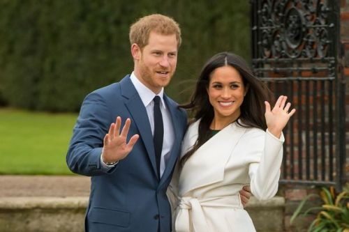 Harry and Meghan Markle's 'goodbye' message day before quitting royal life