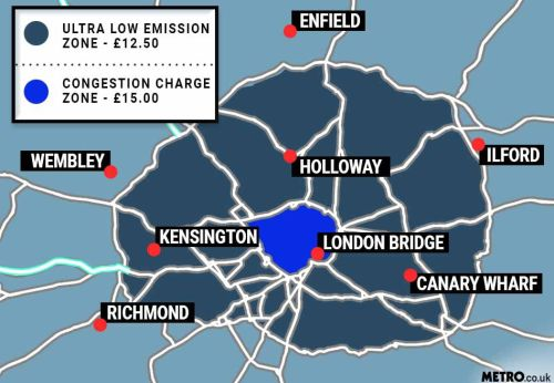 London's Ulez made 18 times bigger with thousands of drivers facing daily charge