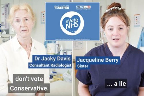 General election: Medical staff debunk Boris Johnson's dodgy NHS promises in viral video