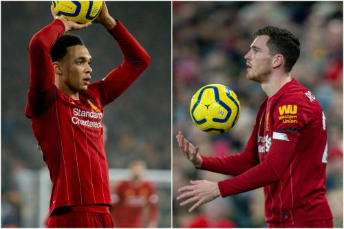 """Trent & Robbo's """"immense understanding"""" makes them Liverpool's best throw-in takers"""