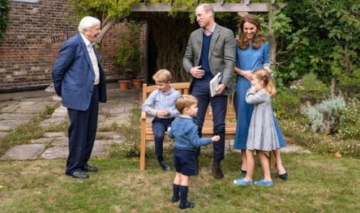 Sir David Attenborough opens up on meeting Prince George, Princess Charlotte and Louis
