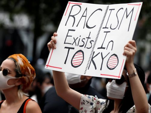 Photos show where around the world Black Lives Matter and anti-police brutality protests are erupting, from Tokyo to Amsterdam