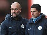 Mikel Arteta insists he is not eyeing up Manchester City's ban as he looks to get Arsenal to Europe