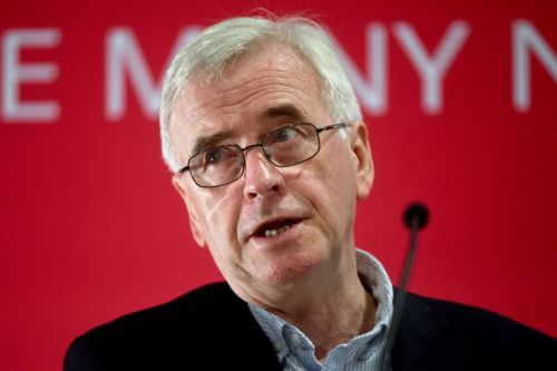 Labour Will Stop 'Modern-Day Scourge' Of Working People In Poverty, Says John McDonnell
