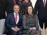 Annastacia Palaszczuk steps out with her lap-band surgeon lover at official event for the first time