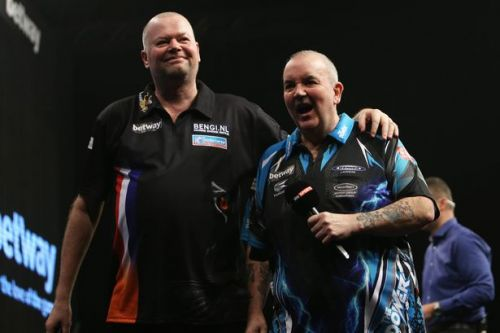 Phil Taylor desperate for old foe Raymond van Barneveld to crown farewell with world title