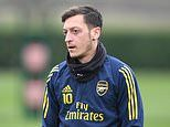 Angry Arsenal fans back Mesut Ozil on social media after he was axed from Premier League squad