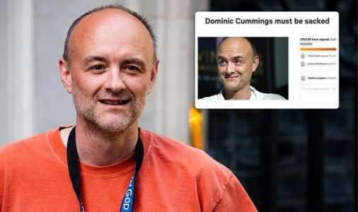 Dominic Cummings petition: Petition to sack Mr Cummings reaches 226,000 - will he quit?