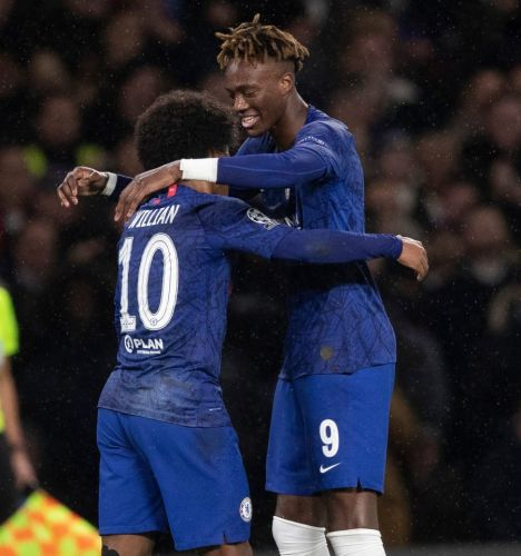 Chelsea 2 Lille 1: Blues secure place in last-16 as Abraham and Azpilicueta goals hold of late Remy strike