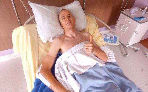 Chris Froome pictured in his hospital bed after crash as he says, 'I am fully focused on returning back to my best'