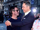 Simon Cowell insults David Walliams by getting his son's name wrong