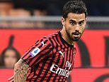 Wolves and West Ham eye January move for £36m AC Milan forward Suso as they aim to bolster attacks