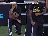 Thierry Henry takes a knee for eight minutes and 46 seconds as he supports Black Lives Matter
