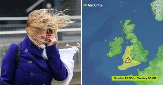 Brace yourselves for 70mph winds as Storm Atiyah hurtles towards UK