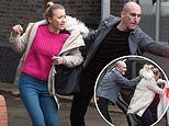 EastEnders SPOILER: Louise Mitchell bundled into a car in terrifying kidnap scenes