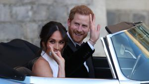 Here's the song Harry and Meghan chose for their first dance as a married couple