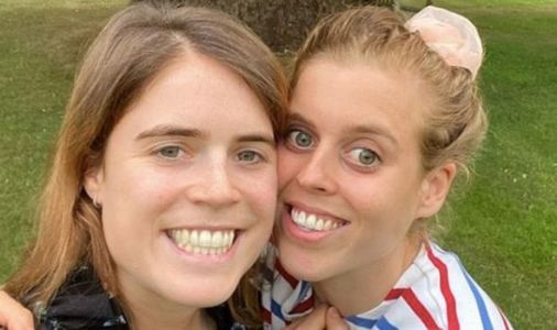 Princess Eugenie shares never-before-seen photo with Beatrice from day before her wedding