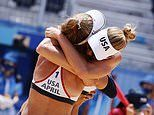 US takes the gold in the women's beach volleyball