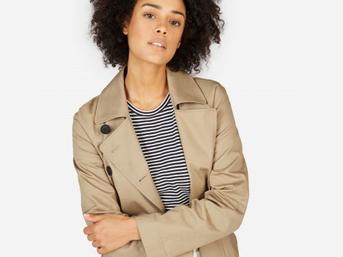 Everlane's $140 trench coat looks like it should cost a lot more - I've had it for 2 years and get asked about it all the time