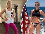 Carrie Underwood shares snaps of her toned figure as she celebrates five years of her fitness line