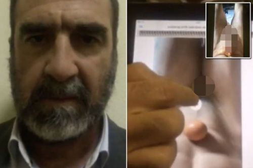 Eric Cantona posts x-rated video ahead of Manchester derby - and fans are stunned