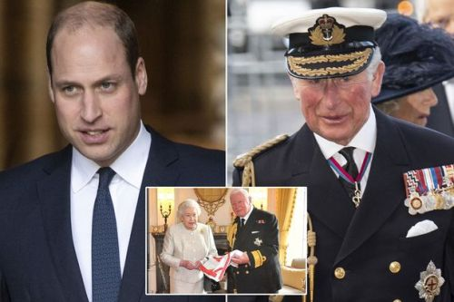 Prince William, Charles and Camilla attend memorial for National Car Parks boss