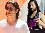 Jared Leto shows off his freshly trimmed locks as he films Apple TV+ series WeCrashed
