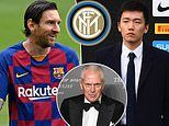 Inter Milan's sponsor Pirelli can 'help' in bid to sign Lionel Messi, says tyre company chief