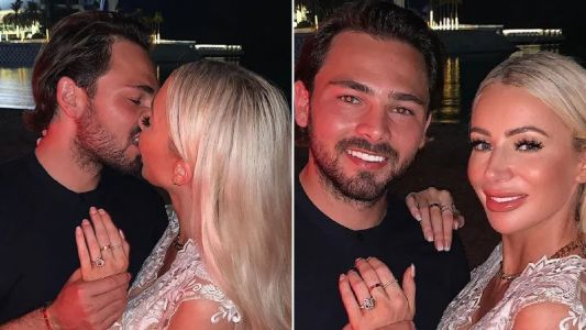Love Island's Olivia Attwood announces engagement to Bradley Dack after romantic proposal in Dubai