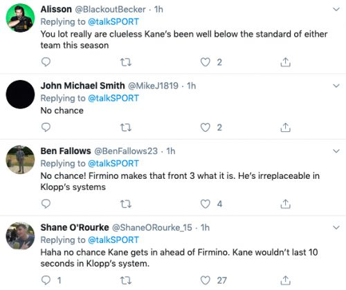 'No chance', ' Clueless' - Many Liverpool fans slam pundit for claim about star player