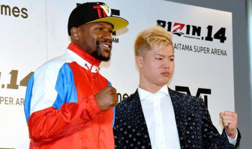 Floyd Mayweather announces Tenshin Nasukawa bout is BACK ON, reveals rules for RIZIN bout