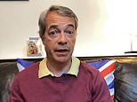 Nigel Farage hosts VERY relaxed coronavirus Facebook Live video from home in a pair of shorts