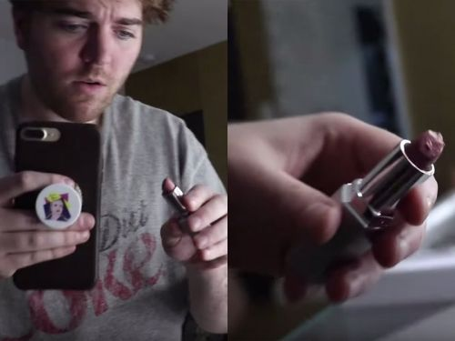 Shane Dawson says he previously received 'hairy' lipstick from Jaclyn Hill's makeup brand