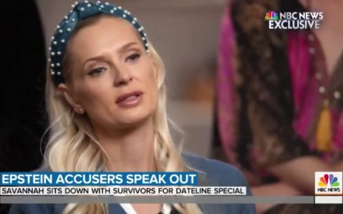 British victim of sex offender Jeffrey Epstein speaks out over her ordeal
