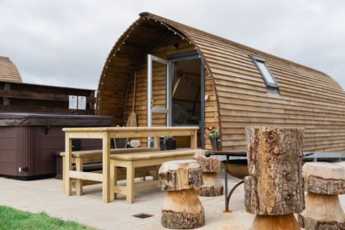 Wigwam holidays, Wigtown, Dumfries and Galloway