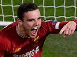 Andy Robertson says Liverpool boast the fear factor ahead of the Champions League last-16 draw