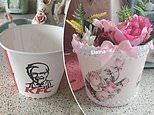 Thrifty woman creates a 'beautiful' vase out of a KFC BUCKET - and fans can't wait to make their own